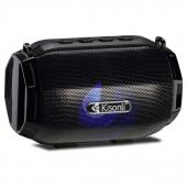 Boxa Portabila Bluetooth Kisonli LED-904, USB, SD, FM, Neagra