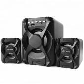 Boxa Bluetooth Kisonli U-2500BT, 5W+3W*2, Neagra, Blister