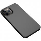 Husa TPU OEM Starry Series pentru Apple iPhone 12 Pro Max, Neagra, Bulk