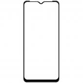 Folie Protectie Ecran OEM pentru Motorola Moto G9 Play, Sticla securizata, Full Face, Full Glue, 6D Neagra, Blister