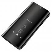 Husa Plastic OEM Clear View pentru Samsung Galaxy S7 edge G935, Neagra