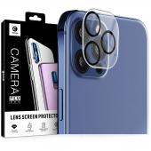 Folie Protectie Camera spate Mocolo pentru Apple iPhone 12 Pro, Sticla securizata, 9H, 2.5D, Blister