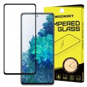 Folie Protectie Ecran WZK pentru Samsung Galaxy S20 FE G780 / Samsung Galaxy S20 FE 5G G781, Sticla securizata, Full Face, Full Glue Neagra