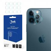 Folie Protectie Camera spate 3MK pentru Apple iPhone 12 Pro Max, Set 4 buc, Plastic, Blister