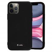 Husa TPU Goospery Jelly pentru Apple iPhone 12 Pro Max, Neagra, Blister
