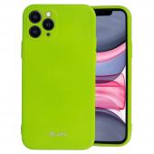 Husa TPU Goospery Jelly pentru Apple iPhone 12 mini, Vernil, Blister