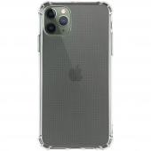 Husa TPU Goospery Mercury Bulletproof Apple iPhone 12 Pro Max, Antisoc, Transparenta, Blister