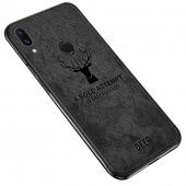 Husa TPU OEM Deer pentru Samsung Galaxy S8 G950, Neagra