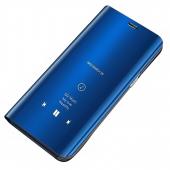 Husa Plastic OEM Clear View pentru Huawei P20 Lite, Albastra, Blister