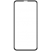 Folie Protectie Ecran OEM pentru Apple iPhone 12 Pro Max, Sticla securizata, Full Face, Full Glue, 9D, Neagra