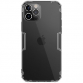 Husa TPU Nillkin Nature pentru Apple iPhone 12 / Apple iPhone 12 Pro, Gri, Blister