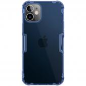 Husa TPU Nillkin Nature pentru Apple iPhone 12 mini, Albastra