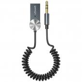 Receptor / Transmitator AUX Usams Bluetooth 5.0 USB-AUX, US-SJ464, Argintiu SJ464JSQ01