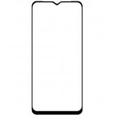 Folie Protectie Ecran OEM pentru Samsung Galaxy A70 A705, Sticla securizata, Full Face, Full Glue, 9D, 0.3mm, Neagra