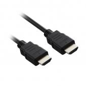 Cablu Audio si Video HDMI la HDMI SBOX, 3 m, Negru, Bulk CAB00071