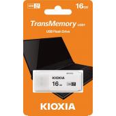 Memorie Externa KIOXIA U301, 16Gb, USB 3.2, Alba LU301W016GG4