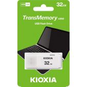 Memorie Externa KIOXIA U202, 32Gb, USB 2.0, Alba LU202W032GG4