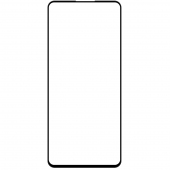 Folie Protectie Ecran OEM pentru Samsung Galaxy S20 FE G780 / Samsung Galaxy S20 FE 5G G781, 10D, 9H, Sticla securizata, Full Face, Full Glue, Neagra