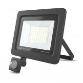 Proiector LED Forever PROXIM II, 50W, 4500K, PIR IP66, cu Senzori de Miscare, pentru Exterior, Neagra