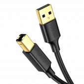 Cablu Imprimanta UGREEN US135, 1,5 m, Negru