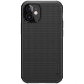 Husa Plastic Nillkin Super Frosted pentru Apple iPhone 12 mini, Neagra