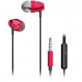 Handsfree Casti In-Ear Dudao X2 Pro, Cu microfon, 3.5 mm, Rosu, Blister