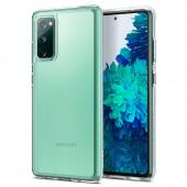 Husa Plastic - TPU Spigen ULTRA HYBRID pentru Samsung Galaxy S20 FE G780 / Samsung Galaxy S20 FE 5G G781, Transparenta ACS01848