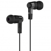 Handsfree Casti In-Ear Borofone Amazing M52, Cu microfon, 3.5 mm, Negru
