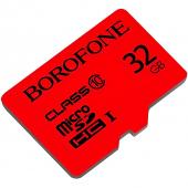 Card Memorie MicroSDHC Borofone, 32Gb, Clasa 10 / UHS-1 U1, Blister