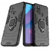 Husa TPU OEM Defender Armor pentru Samsung Galaxy A41, Neagra, Bulk
