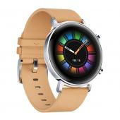 Ceas Smartwatch Huawei Watch GT2, 42mm, Gravel Beige, 55024475, Bej, Resigilat, Blister