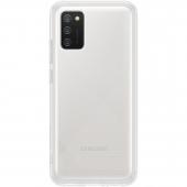 Husa TPU Samsung Galaxy A02s A025F, Clear Cover, Transparenta EF-QA026TTEGEU