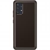 Husa TPU Samsung Galaxy A32 LTE A325, Clear Cover, Neagra EF-QA325TBEGEU