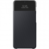 Husa Samsung Galaxy A32 5G A326, S View Wallet, Neagra EF-EA326PBEGEE