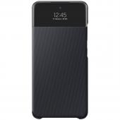 Husa Samsung Galaxy A52, S View Wallet, Neagra EF-EA525PBEGEE