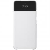 Husa Samsung Galaxy A52, S View Wallet, Alba, Blister EF-EA525PWEGEE