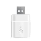 Adaptor USB Wireless Sonoff Smart M0802010006, 5 V / 2.5 A, Compatibil cu Google Home / Alexa, Alb