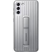 Husa Plastic Samsung Galaxy S21 5G, Protective Standing Cover, Gri, Blister EF-RG991CJEGWW