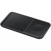 Incarcator Retea Wireless Samsung Duo EP-P4300, Quick Charge, 9W, Varianta cu Incarcator Priza, Negru EP-P4300TBEGEU