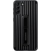 Husa Plastic Samsung Galaxy S21 5G, Protective Standing Cover, Neagra, Blister EF-RG991CBEGWW