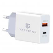 Incarcator Retea USB Tactical AR-PD-30W, 1 X USB - 1 X USB Tip-C, Power Delivery, 30W, Alb