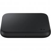 Incarcator Retea Wireless Samsung EP-P1300, Fast Wireless, 9W, Varianta cu Incarcator Priza, Negru EP-P1300TBEGEU