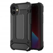 Husa Plastic - TPU OEM Tough Armor pentru Apple iPhone 12 mini, Neagra