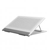 Stand Laptop Baseus Mesh, Universal, 13 inch, Alb Gri SUDD-2G