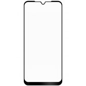Folie Protectie Ecran OEM pentru Samsung Galaxy A10e / Samsung Galaxy A20e, Sticla flexibila, Full Face, Full Glue, 5D, Ceramic, Neagra