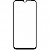 Folie Protectie Ecran OEM pentru Samsung Galaxy A02s A025F, Sticla securizata, Full Face, Full Glue, 5D, 9H, Neagra