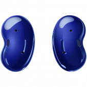 Handsfree Casti Bluetooth Samsung Buds Live, Single Point, Mystic Blue,SM-R180NZB, Albastru, Resigilat, Blister