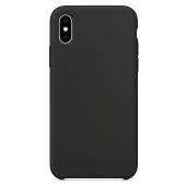 Husa TPU OEM Pure Silicone pentru Apple iPhone 12 Pro Max, Neagra