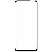 Folie Protectie Ecran OEM pentru Oppo A52, Sticla securizata, Full Face, Full Glue, 6D, Neagra