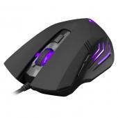 Mouse Wired USB WHITE SHARK GM-3006 HANNIBAL-2, 3200 dpi, Negru